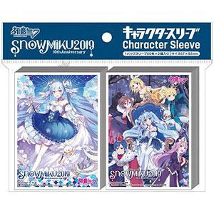 キャラクタースリーブ SNOW MIKU 2019 雪ミク2019(B)(EN-E002) パック