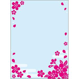 ブロッコリースリーブプロテクター[世界の文様] 「桜の舞い」 パック