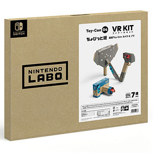 Nintendo Switch Nintendo Labo Toy-Con 04: VR Kit ちょびっと版追加Toy-Con カメラ&ゾウ