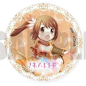 マギアレコード 魔法少女まどか☆マギカ外伝 レザーバッジ D 由比鶴乃