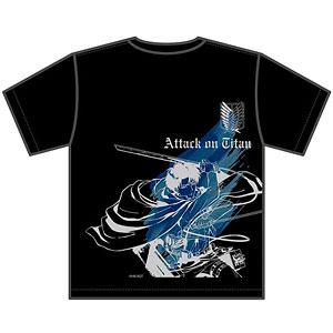 進撃の巨人 リヴァイ Tシャツ L