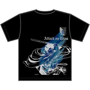進撃の巨人 リヴァイ Tシャツ XL