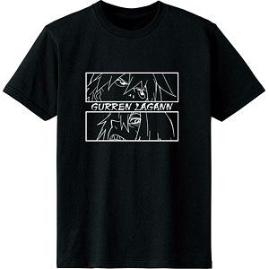 天元突破グレンラガン シモンとヴィラルのライバルTシャツ/レディース(サイズ/XL)