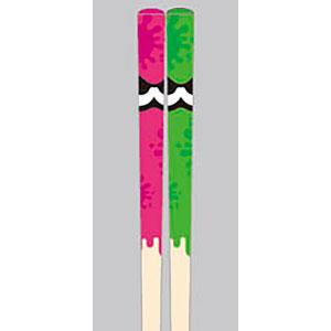 マイ箸コレクション スプラトゥーン2 04 ピンク&グリーン