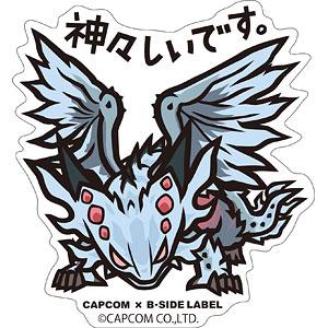 CAPCOM×B-SIDE LABELステッカー モンスターハンター:ワールド 神々しいです。