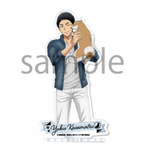 黒子のバスケ アクリルスタンド -With a Dog & Cat- 4.笠松幸男