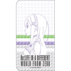 Re:ゼロから始める異世界生活 エミリア 手帳型スマホケース(対象機種/Mサイズ)