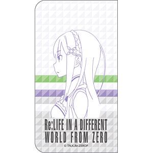 Re:ゼロから始める異世界生活 エミリア 手帳型スマホケース(対象機種/Lサイズ)