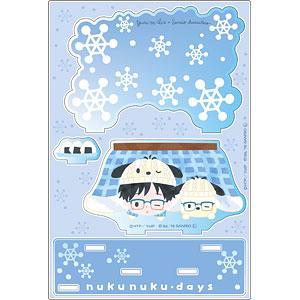 ユーリ!!! on ICE × サンリオキャラクターズ アクリルジオラマ nukunuku・days ver. B