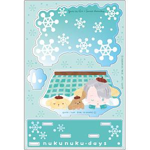 ユーリ!!! on ICE × サンリオキャラクターズ アクリルジオラマ nukunuku・days ver. C