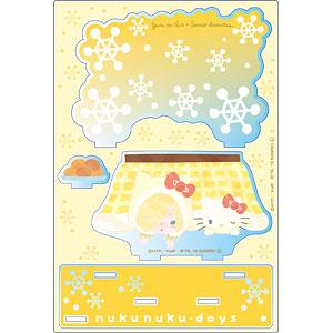 ユーリ!!! on ICE × サンリオキャラクターズ アクリルジオラマ nukunuku・days ver. D