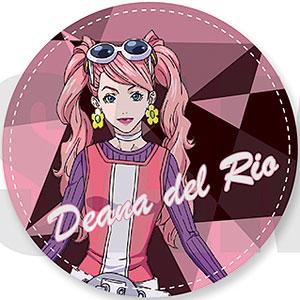 DOUBLE DECKER! ダグ&キリル 丸型コインケース C ディーナ