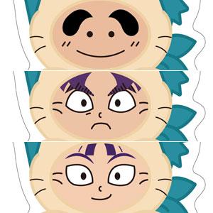 忍たま乱太郎 おなまえぷれ~と しんべヱ&文次郎&仙蔵セット