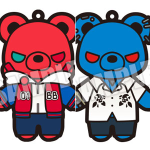 ヒプノシスマイク -Division Rap Battle- くま・ぐるみ ラバーストラップ Vol.1 6個入りBOX