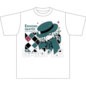 Fate/Grand Order きゃらとりあ Tシャツ アヴェンジャー/巌窟王 エドモン・ダンテス