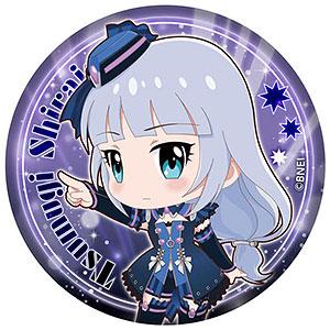 アイドルマスター ミリオンライブ! ぷにぷに缶バッジ 白石紬 ver.
