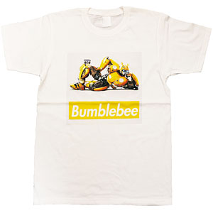 BUMBLEBEE/ バンブルビー ボックスロゴ Tシャツ TF-RS-29 ホワイト レディース サイズL
