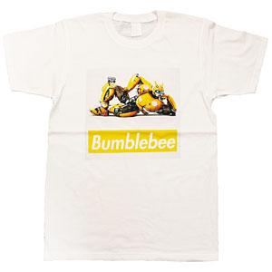 BUMBLEBEE/ バンブルビー ボックスロゴ Tシャツ TF-RS-29 ホワイト メンズ サイズXL