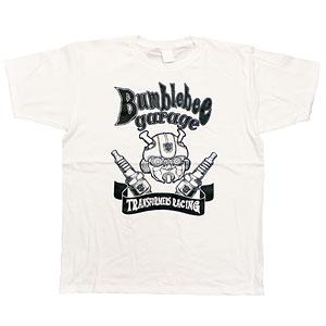 BUMBLEBEE/ バンブルビー トランスフォーマーガレージ Tシャツ TF-RS-30 ホワイト メンズ サイズXL