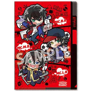 ぴた!でふぉめ ヒプノシスマイク-Division Rap Battle- 3ポケットクリアファイル Buster Bros!!!(Vol.2)