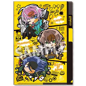 ぴた!でふぉめ ヒプノシスマイク-Division Rap Battle- 3ポケットクリアファイル Fling Posse(Vol.2)