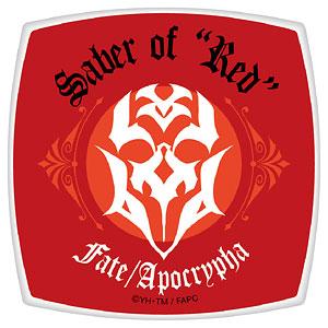 Fate/Apocrypha スクエアコンパクトミラー 赤のセイバー