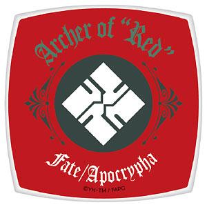 Fate/Apocrypha スクエアコンパクトミラー 赤のアーチャー