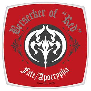 Fate/Apocrypha スクエアコンパクトミラー 赤のバーサーカー