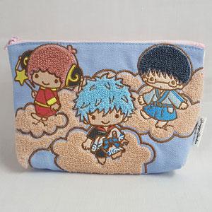 銀魂×Sanrio characters YOROZUYA×TS 相良刺繍ポーチ
