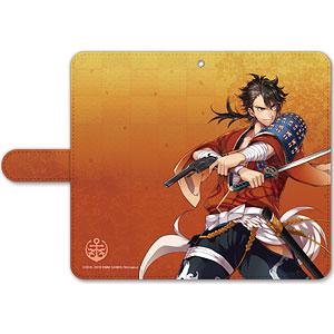 刀剣乱舞-ONLINE- 手帳型モバイルフォンケース(フリーサイズ)05:陸奥守吉行