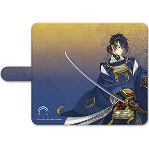刀剣乱舞-ONLINE- 手帳型モバイルフォンケース(フリーサイズ)06:三日月宗近