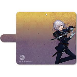 刀剣乱舞-ONLINE- 手帳型モバイルフォンケース(フリーサイズ)10:骨喰藤四郎