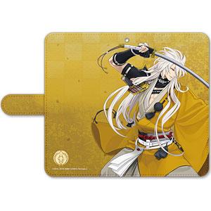刀剣乱舞-ONLINE- 手帳型モバイルフォンケース(フリーサイズ)11:小狐丸