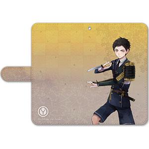 刀剣乱舞-ONLINE- 手帳型モバイルフォンケース(フリーサイズ)17:厚藤四郎