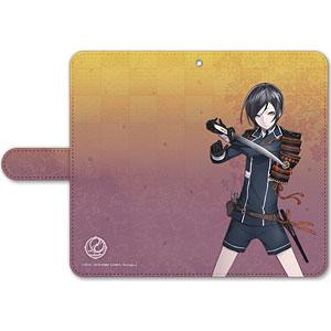 刀剣乱舞-ONLINE- 手帳型モバイルフォンケース(フリーサイズ)20:薬研藤四郎