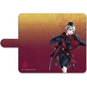 刀剣乱舞-ONLINE- 手帳型モバイルフォンケース(フリーサイズ)70:日向正宗