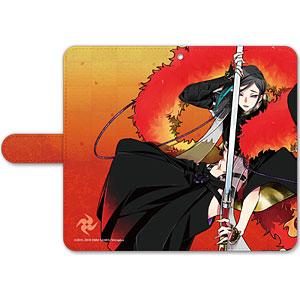 刀剣乱舞-ONLINE- 手帳型モバイルフォンケース(フリーサイズ)71:静形薙刀
