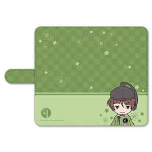 刀剣乱舞-ONLINE- ぽてだん! 手帳型モバイルフォンケース(フリーサイズ)05:石切丸