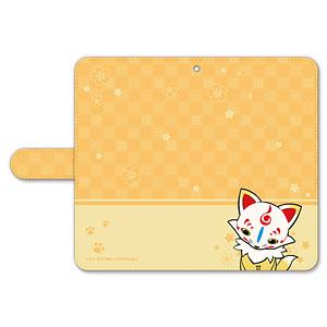 刀剣乱舞-ONLINE- ぽてだん! 手帳型モバイルフォンケース(フリーサイズ)06:こんのすけ