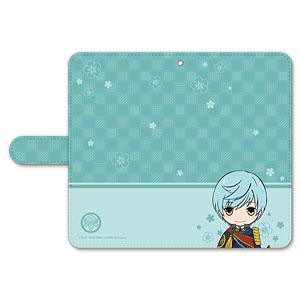 刀剣乱舞-ONLINE- ぽてだん! 手帳型モバイルフォンケース(フリーサイズ)07:一期一振