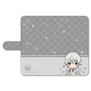 刀剣乱舞-ONLINE- ぽてだん! 手帳型モバイルフォンケース(フリーサイズ)09:鶴丸国永