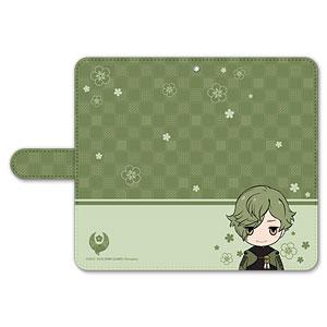 刀剣乱舞-ONLINE- ぽてだん! 手帳型モバイルフォンケース(フリーサイズ)10:鶯丸