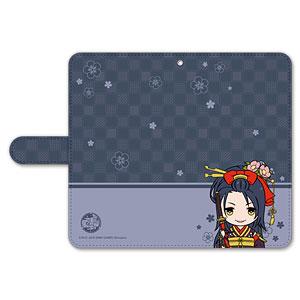 刀剣乱舞-ONLINE- ぽてだん! 手帳型モバイルフォンケース(フリーサイズ)11:次郎太刀