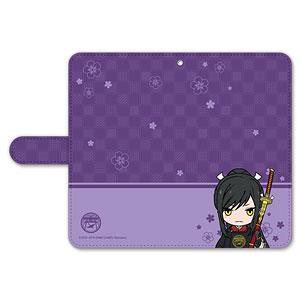 刀剣乱舞-ONLINE- ぽてだん! 手帳型モバイルフォンケース(フリーサイズ)12:太郎太刀