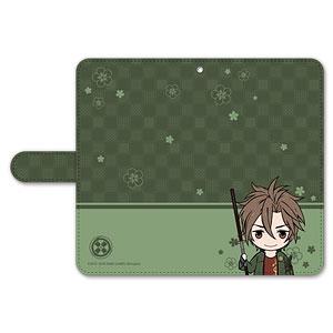 刀剣乱舞-ONLINE- ぽてだん! 手帳型モバイルフォンケース(フリーサイズ)13:御手杵
