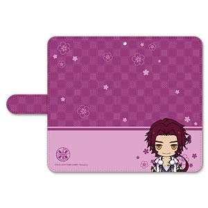 刀剣乱舞-ONLINE- ぽてだん! 手帳型モバイルフォンケース(フリーサイズ)14:蜻蛉切