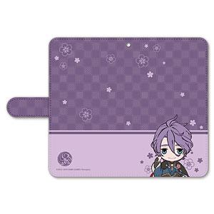 刀剣乱舞-ONLINE- ぽてだん! 手帳型モバイルフォンケース(フリーサイズ)16:歌仙兼定