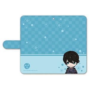 刀剣乱舞-ONLINE- ぽてだん! 手帳型モバイルフォンケース(フリーサイズ)18:堀川国広