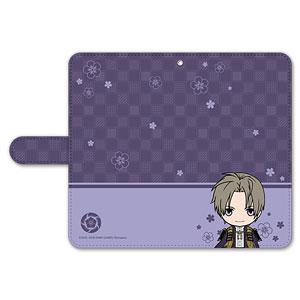 刀剣乱舞-ONLINE- ぽてだん! 手帳型モバイルフォンケース(フリーサイズ)32:へし切長谷部