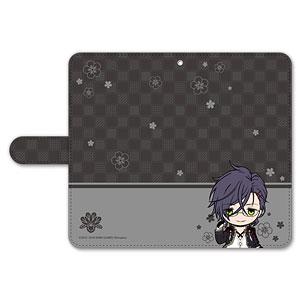 刀剣乱舞-ONLINE- ぽてだん! 手帳型モバイルフォンケース(フリーサイズ)37:明石国行